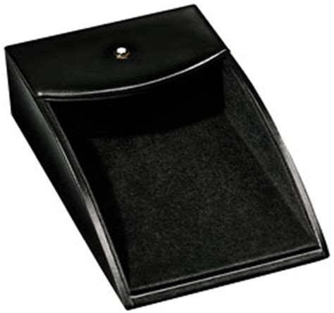 Leather Montblanc Desk Memo Tray Mont Blanc Desk Accessories