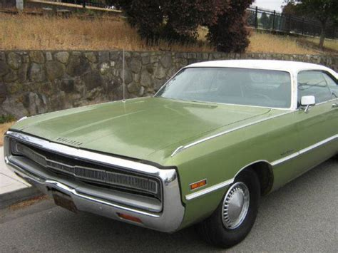 1971 Chrysler 300 For Sale For Sale For Sale 1971 Chrysler 300 For C Bodies Only