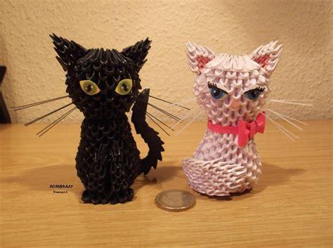 3d Origami Cat Tutorial - cats by sombra33 deviantart on deviantart origame 3