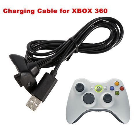 xbox 360 wireless charger usb charging cable wire charger replace for xbox 360