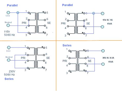 resistor in series with transformer primary soldermans basic electronics transformers series and parallel connections