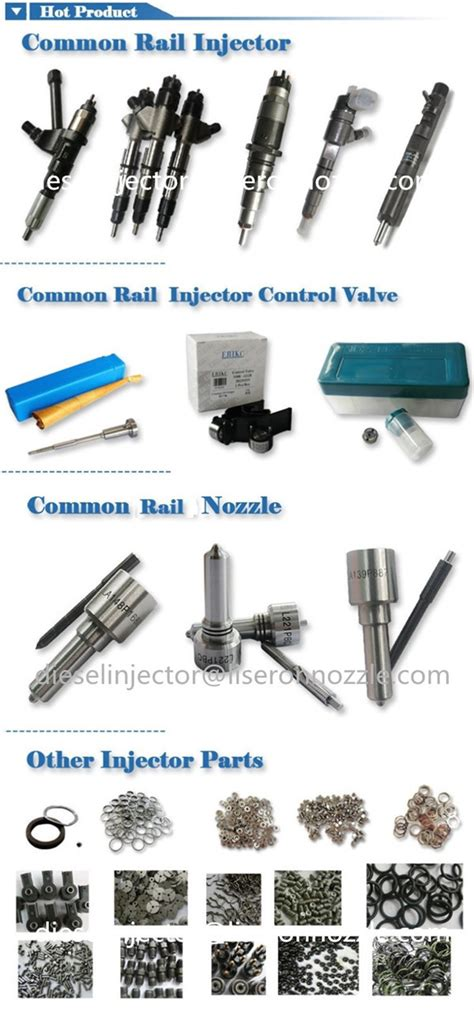 Vc Injection Ecer f00vc99002 f00vc05009 f00vc05008 common rail injector repair kits with ceramic of erikcdiesel