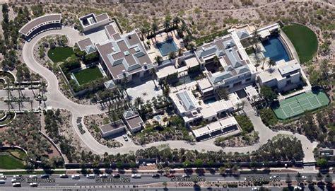Spanish House Floor Plans Updated Aerial Pics Of Ebay Founder S Henderson Nv Mega