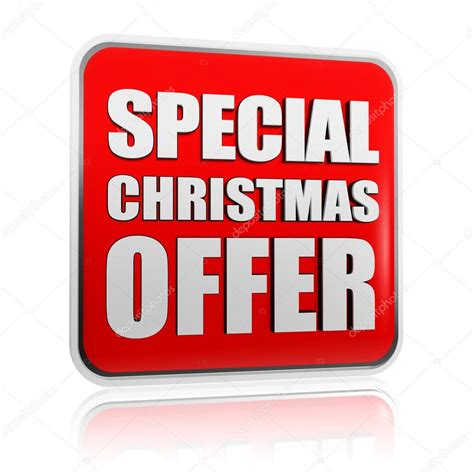 special christmas offer banner stock photo 169 marinini