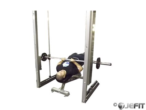 smith machine close grip bench press smith machine decline close grip bench press exercise