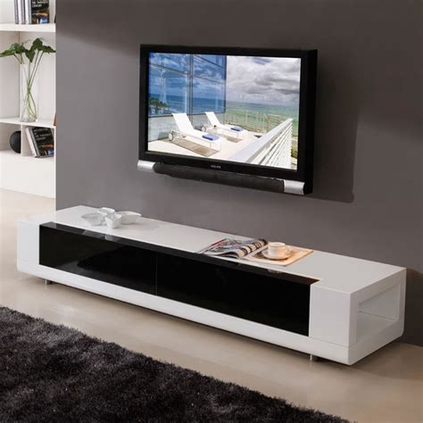 contemporary tv media cabinets b modern editor 79 quot contemporary tv stand in high gloss