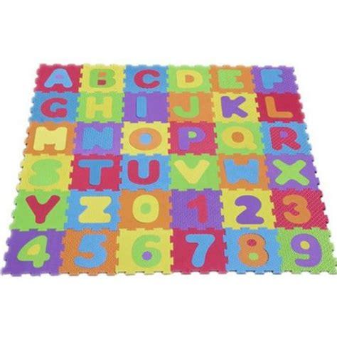 alphabet numbers letter soft foam play mat jigsaw ebay