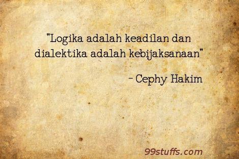 biografi adalah dan autobiografi adalah cephy hakim quot logika adalah keadilan dan dialektika