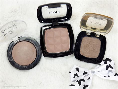 Nyx Taupe review nyx powder blush taupe adjusting