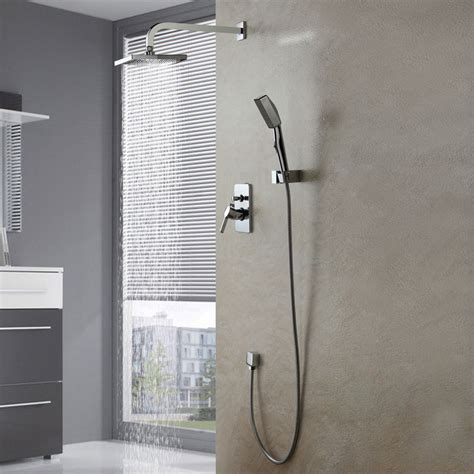 Modern Bathroom Fixture Sets Modern New Wall Mounted Shower Set Faucet 8 Quot Shower