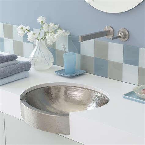 apron bathroom sink calypso 19 inch oval undermount bathroom sink native trails