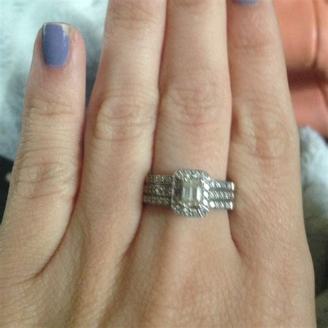jewelry wedding ring and engagement ring together poshmark