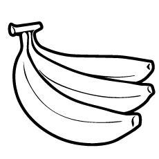 Top 25 Free Printable Banana Coloring Pages Online Banana Coloring Page