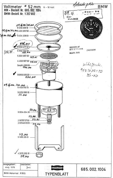 vdo ammeter wiring diagram 26 wiring diagram images
