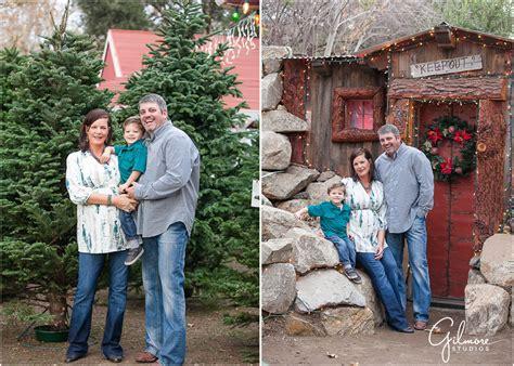 holiday family portrait session irvine regional park