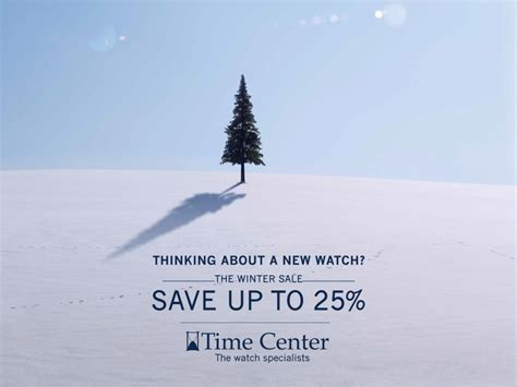 Winter Sale For Just The Two Of Us by Time Center The Winter Sale By Al Majal Poster