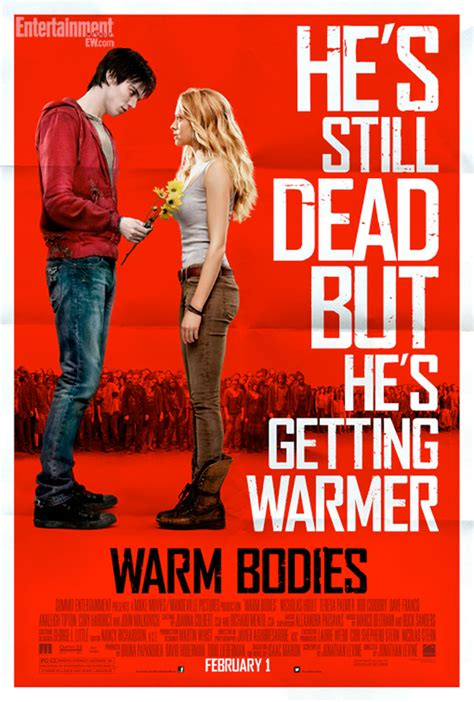 film love zombie new poster for the zombie love story warm bodies geektyrant
