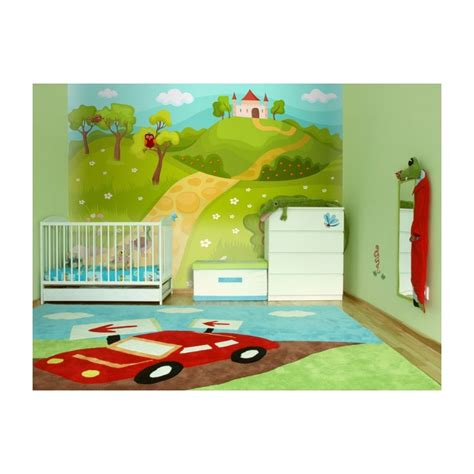 papier peint pour chambre d enfant ch 226 teau magique
