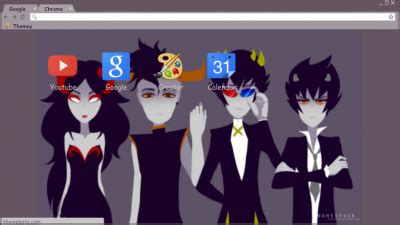 chrome themes homestuck karkat chrome themes themebeta
