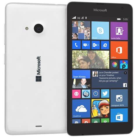 Hp Nokia Lumia 535 Ds 3ds Microsoft Lumia 535 White