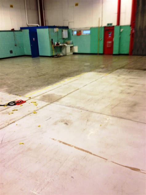 Factory Floor Degrease   Tile Doctor Cleaning Service Business