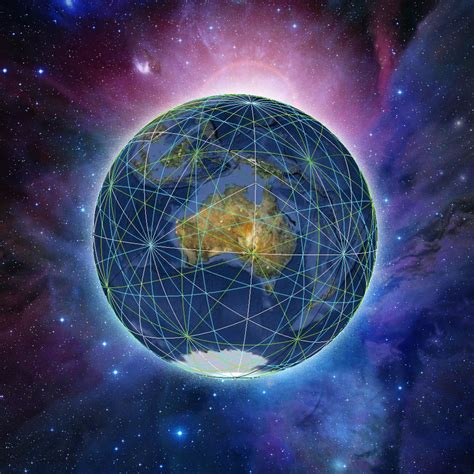 grid pattern of earth ley lines the blog of mystica