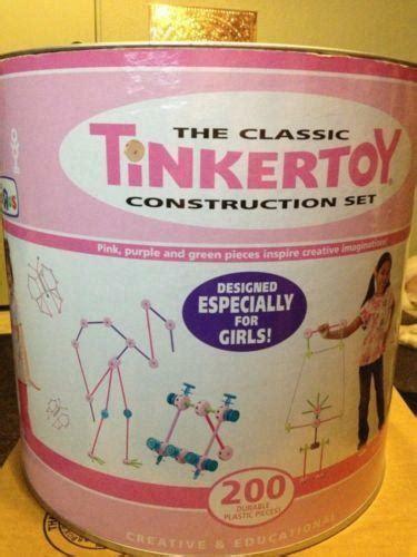 tinkertoy construction set tinker toys ebay