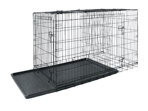 dogs with abs allmax 3 door folding metal crate with abs tray and divider medium black k9 crates