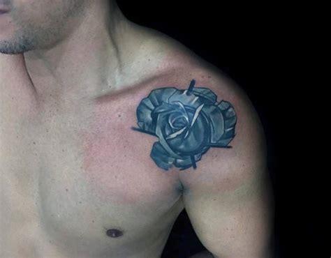rose shoulder tattoos for men 40 geometric designs for flower ink ideas