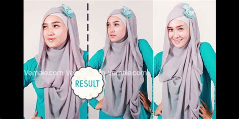 tutorial hijab pesta malam hijabers tutorial sakinah tips jilbab pesta gaya turban