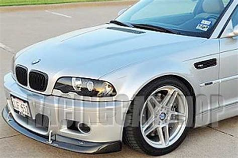 Strut Bar Bmw E36 Acs New Stock acs style front lip spoiler for bmw e46 m3 98 05 3
