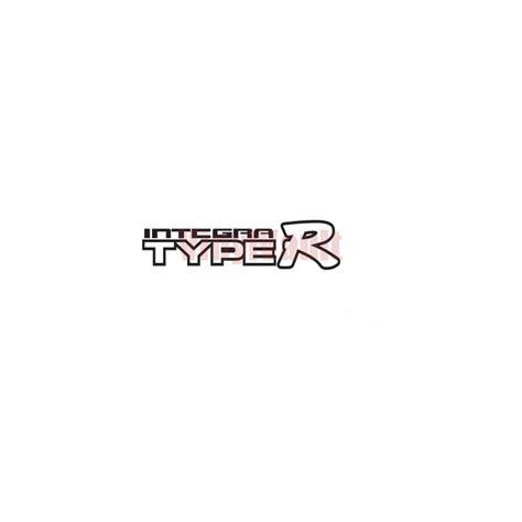 Car Types Logo by Integra Type R Logo Vinyl Car Decal Vinyl Vault