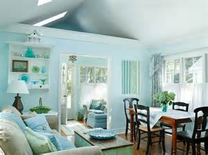 small lake cottage with turquoise interiors home bunch
