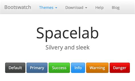 bootstrap themes spacelab cerulean free bootstrap theme