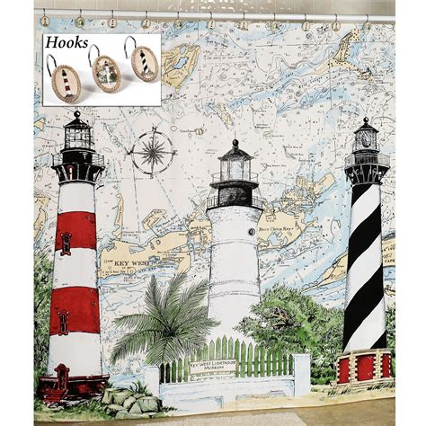 Lighthouse Kitchen Curtains Light House Kitchen Curtain Curtain Design