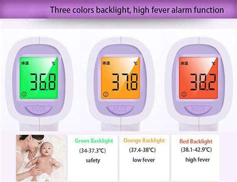 Termometer Infrared Uv 8808 Tqf8t uv 8808 infrared thermometer white