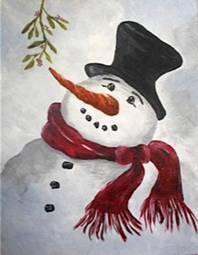 paint nite snowman 1290 best images about acrylic painting on