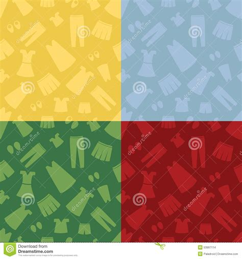 color pattern for clothes seamless pattern clothing stock vector image 53997114