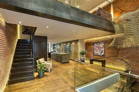 modern townhouse  loft design  york city