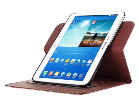 samsung 10 inch tablet for samsung galaxy tab 3 10 1 inch tablet p5200 pu leather cover rotating ebay