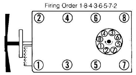 chevrolet 350 engine firing order