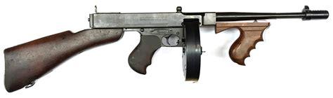 Thompsons L by Thompson 1928 A1 Al Capone Cal 45 Acp Armes Cat 233 Gorie B