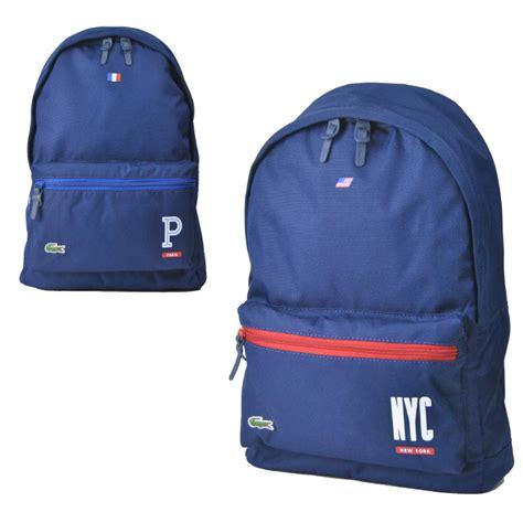 Backpack Lacoste deroque due rakuten global market lacoste lacoste