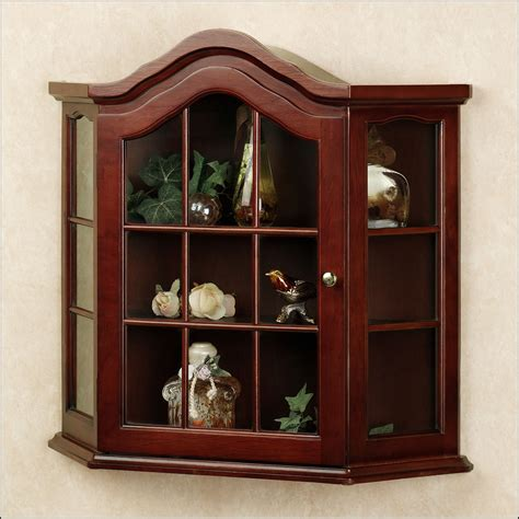 small wall curio cabinet small wall curio cabinet with glass doors cabinet home