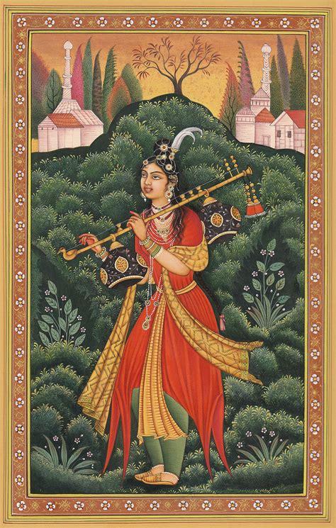 Khimar Hamida yogini from deccan perhaps the princess badr e munir