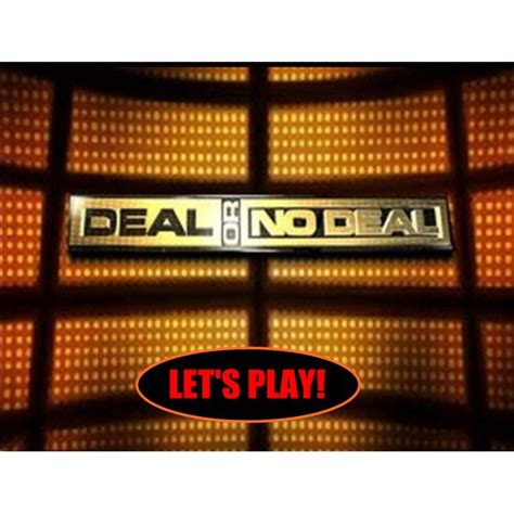 deal or no deal powerpoint template deal or no deal template powerpoint free interactive