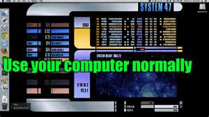 Blinds For Bow Windows turn your mac into a functional star trek lcars terminal