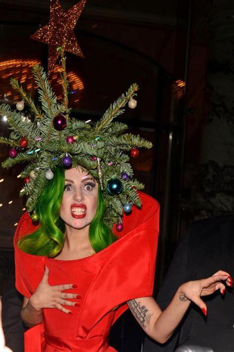she s barking lady gaga brings festive cheer to london by
