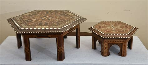 middle eastern couches stacking middle eastern octagonal inlaid tables for sale
