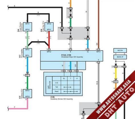 toyota altezza wiring diagram circuit diagram maker